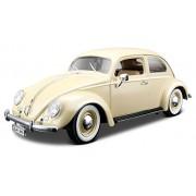 Bburago 18-12029 Gold VW Kafer Beetle (1955) - Modellino in scala 1:18, colori assortiti
