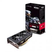 Sapphire Saphir 11256–02–20 G 8 Go Carte graphique Radeon RX 470 Nitro + OC 14 mm Polaris Carte graphique – Noir (PCIe 3.0, 8000 MHz GDDR5, 1121 MHz GPU Boost, 1260 MHz, 2048 Ruisseaux)