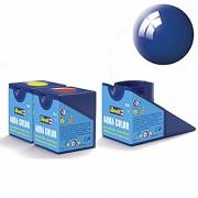 Revell Acrylics (Aqua) - 18ml - Aqua Blue Gloss - RV36152