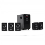 auna HF583 5.1-Lautsprecherset USB-SD-MP3 UKW Radio 70W RMS inkl. Fernbedienung