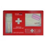Swiss Haircare Premium Haircare Color Kit , g für Frauen - Haarbürste Paddle Brush1 Stk. + Tasche + 200ml Shampoo für coloriertes Haar für coloriertes Haar