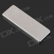 DIY Square NdFeB Magnets - Silver (30 x 10 x 2 mm / 10 PCS)