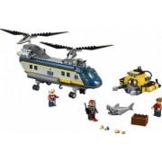 Set Constructie Lego City Elicopter Pentru Expeditii Marine