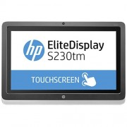 "Monitor HP EliteDisplay S230tm, 23"" IPS LED Touch, 1920x1080 FHD, 1000:1, 7ms, 220cd, DVI-D, DP, USB"