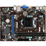 Placa de baza MSI H81M-E33 Socket 1150