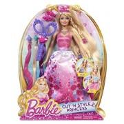 "Barbie Cut 'N Style Princess ~12"" Doll Playset by Mattel"