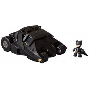 Figure cute Batman with Tumbler Batmobile SD version Batman Dark Knight Bat Mobile - with movie Batman Dark Knight Rising DC superhero Batman The Dark Knight Rises 2 inch Mez-Itz Action Figure! Reward to present their gift [parallel import goods] Not Avai