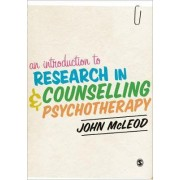 An Introduction to Research in Counselling and Psychotherapy by John McLeod