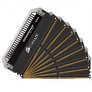 Memorie Corsair Dominator Platinum 64GB (8x8GB) DDR4, 2400MHz, PC4-19200, CL14, 1.2V, Quad Channel Kit, CMD64GX4M8A2400C14