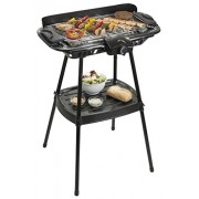 Bestron AJA902S Gril Barbecue sur Pieds Thermostat 2000 W