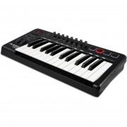 Teclado Alesis QX25 25Teclas Advanced USB MIDI-Negro