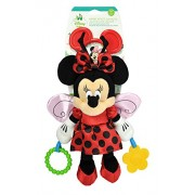 Kids Preferred Disney Baby Minnie Mouse Ladybug Activity Toy Plush