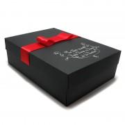 Cutie de cadou neagra
