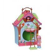 Zapf Creation 920077 - Casa della bambole a forma di orologio a cucù, per bambole di 12 cm
