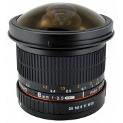 Samyang 8mm f/3.5 UMC Fish-eye CS II (Samsung NX)