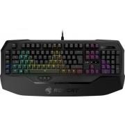 Tastatura ROCCAT Ryos MK FX Brown, Iluminata, Mecanica (Negru)