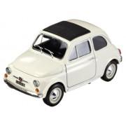 12020W - Bburago - Fiat 500 F (1965), White, 1:18