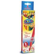 Creioane colorate 6 culori/set CARIOCA Jumbo