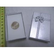 Set 30 cutii cu fundita argintii