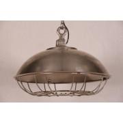 Casa Padrino Pendant Lamp Ceiling Lamp Antique Style Blue Industrial Design Vintage 45cm Diameter - Industrial Lamp Hanging Lamp