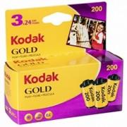 Kodak GOLD 200 135/24 - Film foto, 24 cadre, ISO 200, 3 buc.
