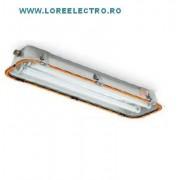 corp de iluminat Antiex 2x36W Italia zona 21, 22 prafuri, zona 2 gaze IP66