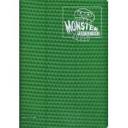 Monster Binder 9 Pocket Trading Card Album Holofoil Green (Anti Theft Pockets Hold 360+ Yugioh, Pokemon, Magic The Gathering Cards)
