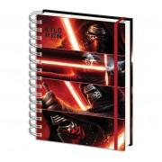Star Wars - Zápisník Kylo Ren, A4