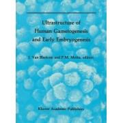 Ultrastructure of Human Gametogenesis and Early Embryogenesis by Jonathan Van Blerkom