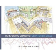 Perspective Drawing for Interior Space by Christopher Natale