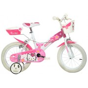 Dino Bikes 154 NL-HK - Hello Kitty Bicicletta, 14 Pollici