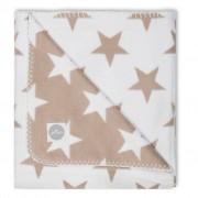Jollein Coperta Little Star 75x100 cm Sabbia 514-511-65007