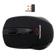 Mouse Esperanza Czarna, Wireless (Negru)