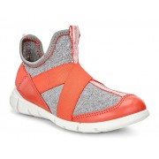 Sneakers copii ECCO Intrinsic (Gri / Coral Blush)