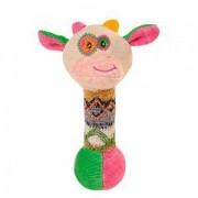 Бебешки играчка - плюшена крава с пищялка, 1249 Babyono, 9070214