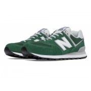 New Balance Men's 574 Classic Green with White