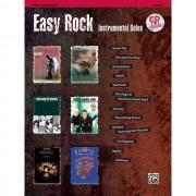 Alfred Music - Easy Rock - Alt-Sax Instrumental Solos, Buch/CD