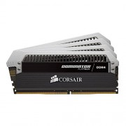 Corsair CMD32GX4M4A2666C16 Dominator Platinum Memoria per Desktop di Livello Enthusiast 32 GB (4x8 GB), DDR4, 2666 MHz, CL16, con Supporto XMP 2.0, Nero
