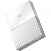 Hard disk extern Western Digital My Passport New 3TB 2.5 inch USB 3.0 White