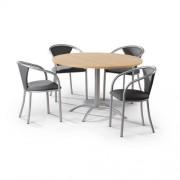 Vergaderset Laser - Beuken tafel