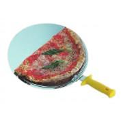 Suport inox cu maner pentru prezentare pizza D30 cm