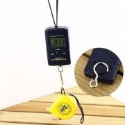 Závesná digitálna váha do 40 kg + batérie zdarma
