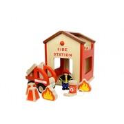 Fire Station Masterkidz Impostare riproduzione