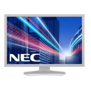 NEC MultiSync PA242W white 24.1' LCD monitor with GB-R LED backlight,10-bit AH-IPS panel, AdobeRGB, resolution 1920x1200, VGA, DVI, DisplayPort, HDMI, PiP, DUC, 150 mm height adjustable