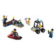 LEGO® City Set pentru incepatori - Inchisoarea de pe Insula - 60127