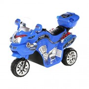 Lil Rider Fx Wheel 6v Battery Powered Motorcycle, Kids Electric Motorcycle, Blue
