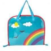 Lill Pumpkin Aqua rainbow Drawing bags