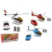 Globospa elicottero e auto polizia e soccorsi l/s 38151 (no scelta)