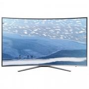 Televizor Smart LED Curbat Samsung 123 cm Ultra HD/4K 49KU6502, Quad Core, WiFi, USB, CI+, Grey