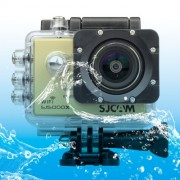 SJCAM SJ5000X WiFi Ultra HD 2K 2.0 inch LCD Sports Camcorder with Waterproof Case 170 Degrees Wide Angle Lens 30m Waterproof(Gold)